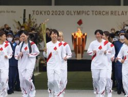 Kirab Obor Olimpiade Tokyo Dimulai, Melewati 859 Kota