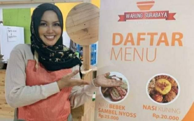 Habis Urus Kebugaran Rara Sajikan Menu Sehat di Warung Surabaya Ning Inul