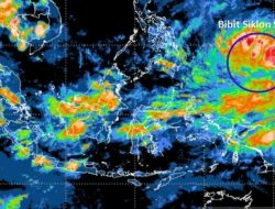 BNPB Ingatkan 30 Daerah Tingkat Provinsi Waspadai Potensi Bibit Siklon Tropis 94W