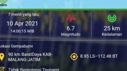 Hasil Monitoring BMKG Belum Ada Aktifitas Gempa Susulan