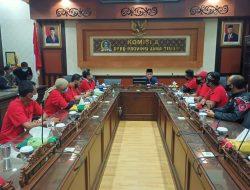 Komisi A DPRD Jawa Timur Temui Perwakilan Pengunjuk Rasa Driver Ojek Online