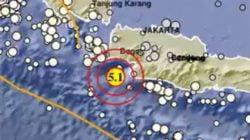Gempa Magnitudo 5,1 Melanda Banten
