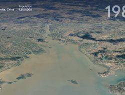 Timelapse, Fitur Baru Google Earth yang Gambarkan Perubahan Iklim dalam Empat Dekade Terakhir