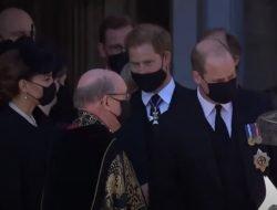 William dan Harry Bicara di Depan Publik pada Pemakaman Pangeran Philip