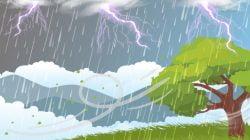BMKG Prakirakan Potensi Hujan Lebat Disertai Angin Kencang di Wilayah Jawa dan Sumatera