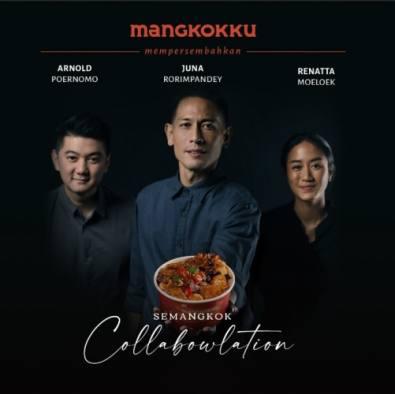 Kolaborasi Chef Arnold, Chef Juna dan Chef Renatta dalam Semangkuk 'collaBOWLation'