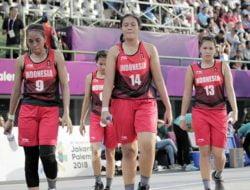 Timnas Basket 3×3 Putri Latihan dengan Prokes Ketat