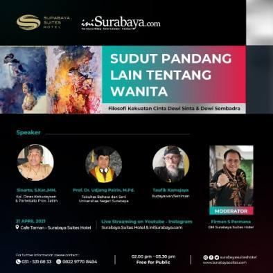 Akrabkan Wayang ke Anak Muda, iniSurabaya.com-Susuhot Ungkap Kekuatan Cinta 2 Dewi Ini di Hari Kartini