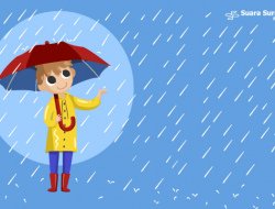 Jelang Lebaran, Hujan Lebat Diprakirakan Melanda Beberapa Daerah di Indonesia