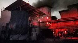 Pabrik Minyak Goreng Ikan Dorang Kebakaran