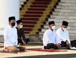 Usai Salat Idulfitri, Presiden dan Ibu Negara Tidak Mengadakan Open House