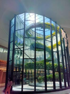 Inilah Serunya Nge-Mall Sambil Berfoto Bareng, Bisa Pilih Lorong Penuh Bunga atau di Taman Berlapis Kaca Setinggi 20 Meter