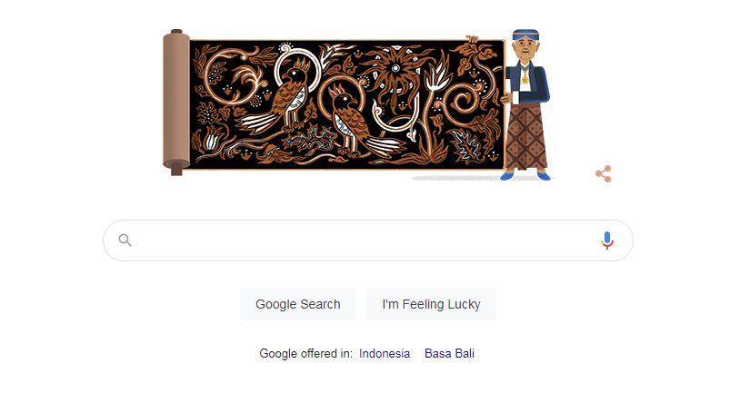 Google Doodle Rayakan 90 Tahun Go Tik Swan Pelopor Batik Indonesia