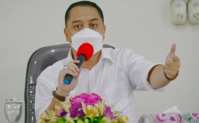 Masuk Zona Oranye, Wali Kota Surabaya Imbau Warganya Salat Id di Rumah Saja, Eri Cahyadi: Saya Minta Maaf