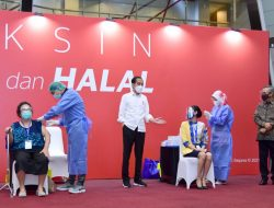 Presiden Pantau Pelaksanaan Perdana Program Vaksinasi Gotong Royong