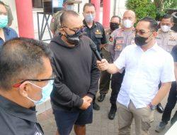 Viral di Medsos Pria Berkata Kasar Kepada Pengunjung Bermasker, Akhirnya Klarifikasi Dihadapan Polisi