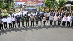 Polri beserta Jajaran Lakukan Persiapan Akhir pada Apel Gelar Pasukan Operasi Ketupat Semeru 2021