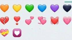 Jangan Asal Kirim Emoticon Hati, Pahami Dulu Maknanya! Siap-Siap Melayang Jika Terima Emoji Hati #16
