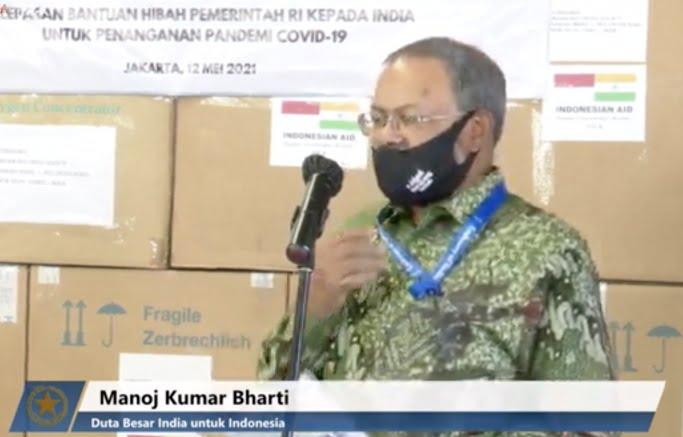 Pemerintah India Sampaikan Apresiasi Atas Bantuan dari Indonesia