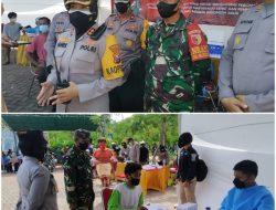 250 Nelayan dan Bonek Ikut Vaksinasi di Surabaya