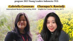 Dua Mahasiswi UK Petra Terpilih Ikuti Young Leaders for Indonesia 2021