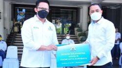 Kadin Surabaya Serahkan Donasi kepada Pemkot Surabaya sebagai Dukungan Penanganan Covid-19