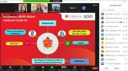 Ubaya dan Penerbit Erlangga Edukasi Masyarakat Kenali Fakta dan Hoaks Tentang Vaksin Covid-19