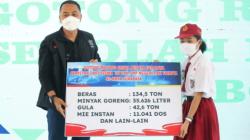 Siswa SD dan SMP Surabaya Salurkan Bantuan Rp 1 Miliar