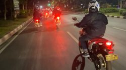 Satreskrim Polrestabes Surabaya Lakukan Patroli Malam Roda 2