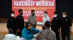 Polresta Sidoarjo Gandeng Komunitas, Kejar Target 70 Persen Vaksinasi