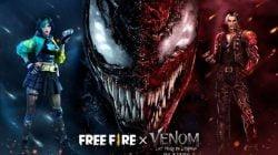 Mainkan Free Fire x Venom dan Dapatkan Item Eksklusifnya!
