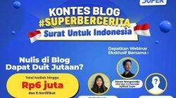 Aplikasi Super Kembali Gelar Kontes Blog #SuperBercerita, Simak Detilnya di Sini