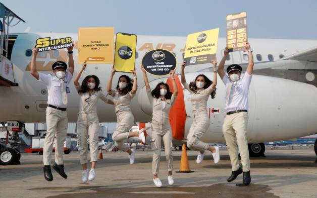 Super Air Jet Akhirnya Mendarat di Surabyaa, Simak Jadwal Penerbangan Berikut Ini