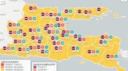 Khofifah Sebut 32 Kabupaten/Kota di Jatim Masuk PPKM Level 1
